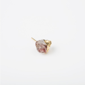 INCLUSION-QUARTZ BIRTHDAY STONE EARRING 1P (Apr)