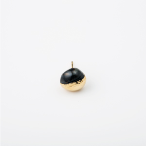 ONYX BIRTHDAY STONE EARRING 1P (Aug)