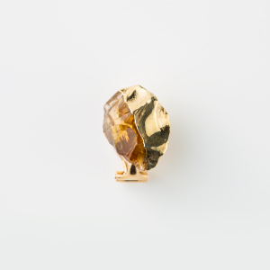 CITRINE BIRTHDAY STONE EARCLIP 1P (Nov)