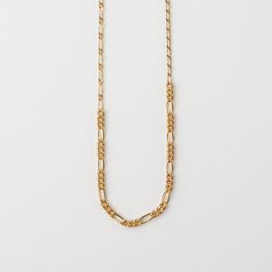 YU-KIN PATCH CHAIN NECKLACE