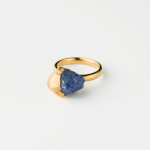 LAPIS-LAZURI BIRTHDAY STONE RING