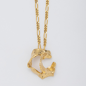 YU-KIN BROKEN HOOP NECKLACE
