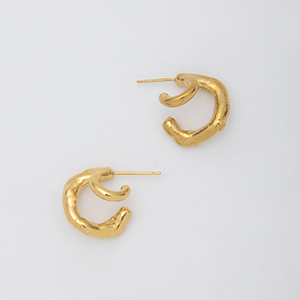 YU-KIN DOUBLE EARRINGS