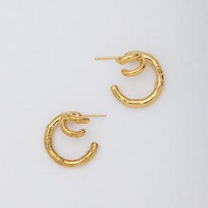 YU-KIN TRIPLE EARRINGS