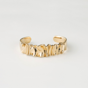 YU-KIN METAL FRILL BANGLE